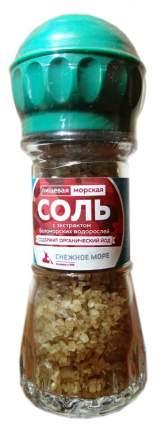 Соль морская пищевая с экстрактом беломорских водорослей, 80 г