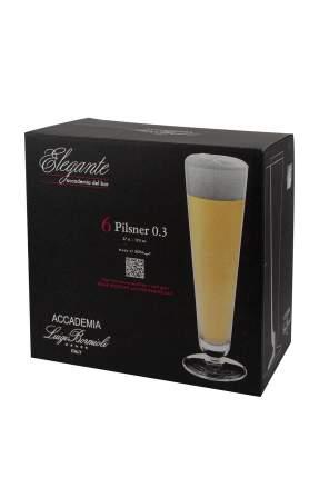 Набор бокалов для пива Elegante 300 мл, 6 шт