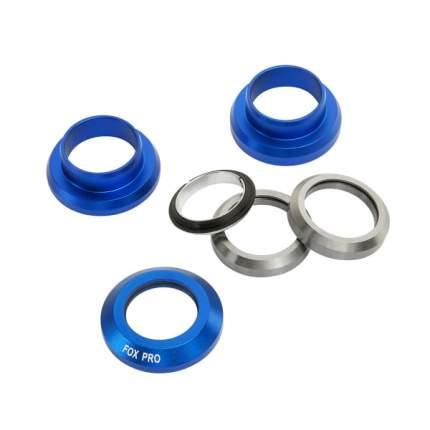 Рулевая колонка Fox стандарт 1 1/8 silver/blue