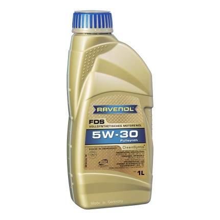 Моторное масло Ravenol FDS SAE 5W-30 1л