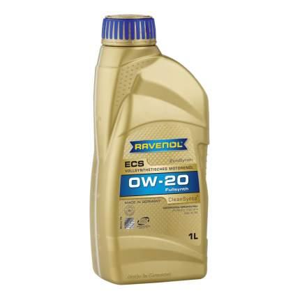 Моторное масло Ravenol ECS EcoSynth SAE 0W-20 1л