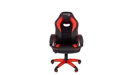 Игровое кресло CHAIRMAN game 16 00-07024557, красный/черный