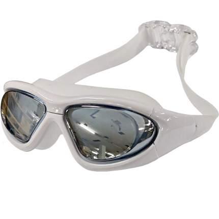 B31537-W Очки для плавания взрослые полу-маска (Белый)