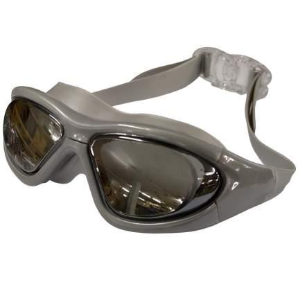 Очки-полумаска для плавания Hawk B31537-9 серебро