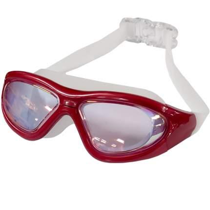 B31537-3 Очки для плавания взрослые полу-маска (Красный)