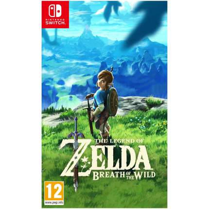 Игра Legend of Zelda: Breath of the Wild для Nintendo Switch