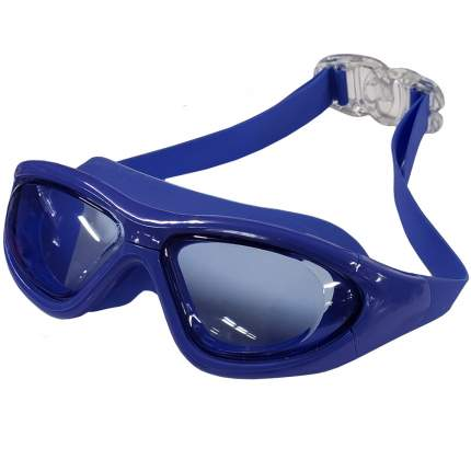 Очки-полумаска для плавания Hawk B31536-1 синие