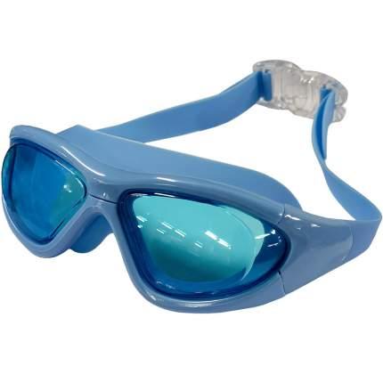Очки-полумаска для плавания Hawk B31536-0 голубые
