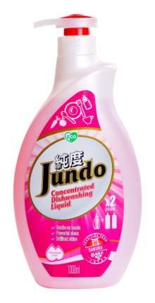 Концентрированный эко  гель Jundo  для мытья посуды и детских принадлежностей Sakura 1 л