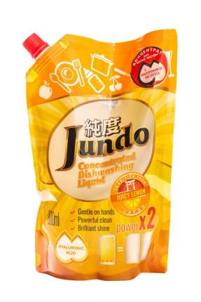 Гель Jundo Juicy Lemon эко для мытья посуды и детских принадлежностей 800 мл