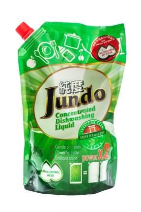 Гель Jundo Green tea with Mint эко для мытья посуды и детских принадлежностей 800 мл