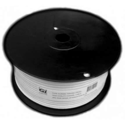 Кабель телевизионный Galaxy Innovations Coax - Coax 100м White (Gi RG6U бухта)