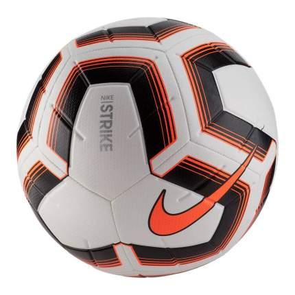 Футбольный мяч Nike Strike 2019 №5 белый/черно-оранжевый