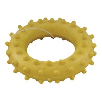 Жевательная игрушка для собак Зооник Кольцо с шипами №1, в ассортименте, 5,6 см