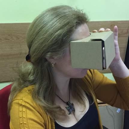 Очки виртуальной реальности Espada Cardboard VR 3D EBoard3D6
