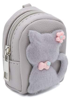 Кошелек детский Кошка с бантиком CoolToys KDL02-5 серый
