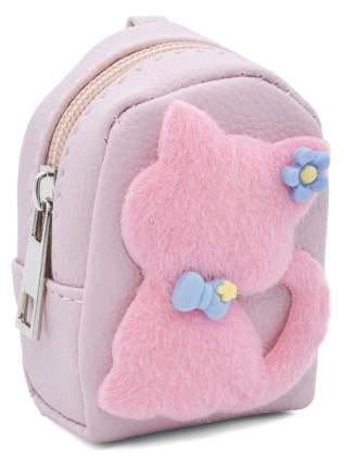 Кошелек детский Кошка с бантиком CoolToys KDL02-4 розовый