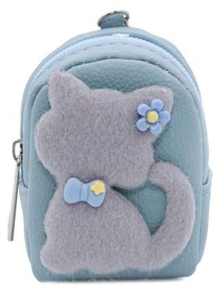 Кошелек детский Кошка с бантиком CoolToys KDL02-2 голубой