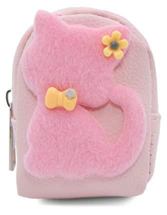 Кошелек детский Кошка с бантиком CoolToys KDL02-1 розовый