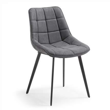 Стул La Forma Adah 53143, black/grey