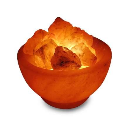 Солевая лампа «Огненная ВАЗА» Wonder Life 12 см около 2 кг