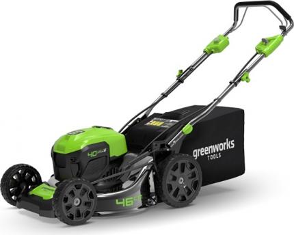 Газонокосилка GreenWorks 40V G-Max GD40LM46SP (арт. 2506807)