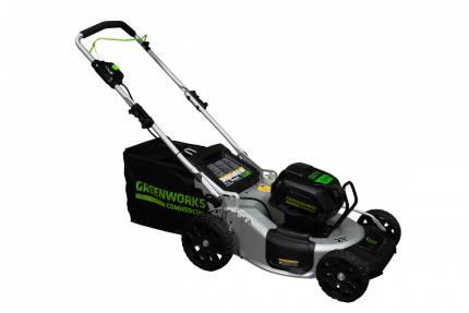 Самоходная бесщеточная аккумуляторная газонокосилка Greenworks (арт. 2502607)