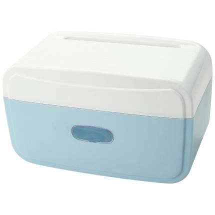 BH-TOILP-05 Полка-держатель для туалетной бумаги, цвет голубой, 24,5х13х15 см