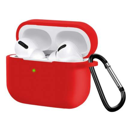 Чехол HANG Silicone Case для AirPods Pro Red