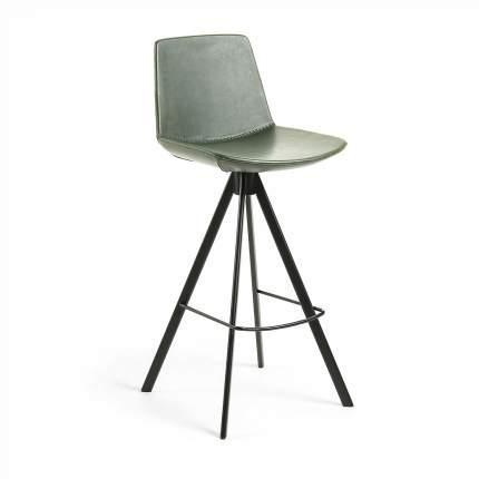 Полубарный стул La Forma Zast 58254, черный/зеленый