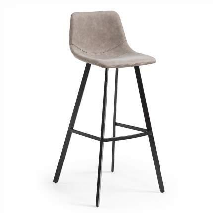 Барный стул La Forma Andi 53173, черный/бежевый