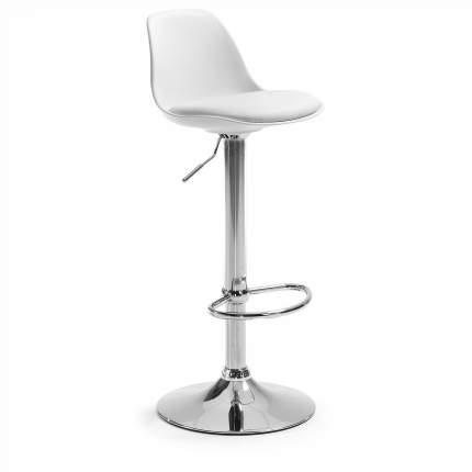 Барный стул La Forma Orlando 58580, хром/белый