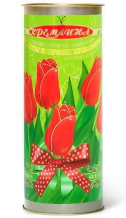 Конфеты Кремлина ассорти фрукты и орехи шоколадные туба Тюльпаны 250 г