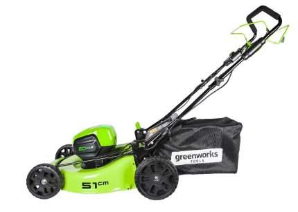 Газонокосилка аккумуляторная Greenworks GD60LM46HP (без АКБ)