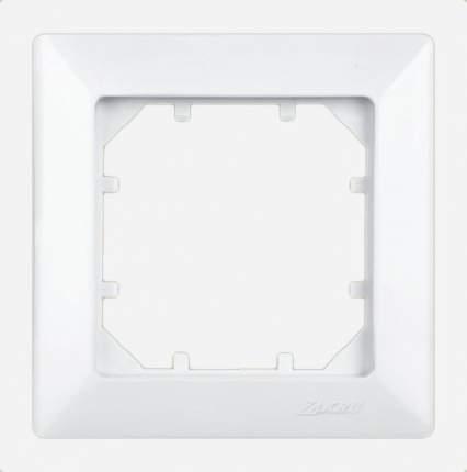 Рамка одинарная Zakru CLASICO (Белый)