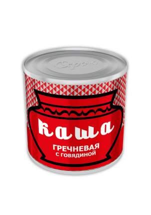 Каша гречневая Орский мясокомбинат с говядиной Орская 250 г