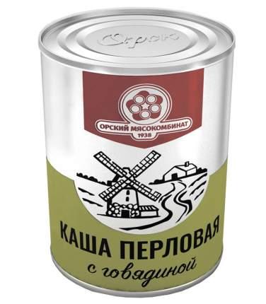 Каша перловая Орский мясокомбинат с говядиной Походная 340 г