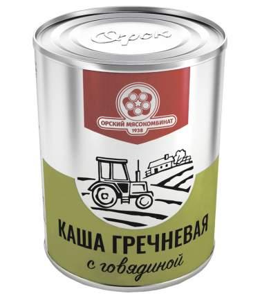Каша гречневая Орский мясокомбинат с говядиной Походная 340 г
