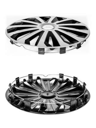 """Колпаки колесные MICHELIN 15"""", """"Космо"""", цвет: серебристо-черный, 4 шт., 300271"""