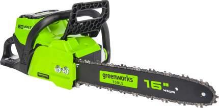 Пила цепная аккумуляторная Greenworks GD60CS40K2