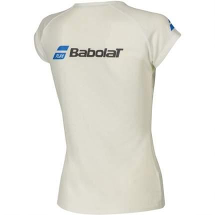 Футболка Babolat Core, white, XS INT