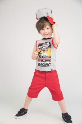 Шорты для мальчика PlayToday, цв.красный, р-р 98