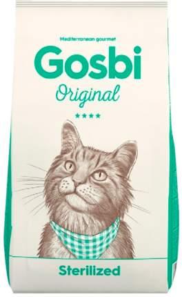 Сухой корм для кошек Gosbi Original Sterilized, для стерилизованных, курица, 7кг