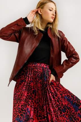 Куртка женская Finn-Flare B20-11801 бордовая 2XL