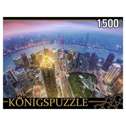 "Пазлы ""Konigspuzzle. Китай. Шанхай"", 1500 элементов"