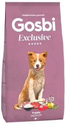 Сухой корм для щенков Gosbi Exclusive Puppy Medium, для средних пород, курица, 12кг