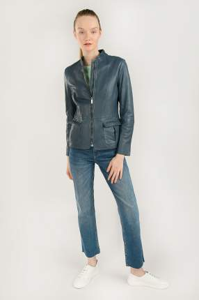 Куртка женская Finn-Flare B20-11809 голубая 2XL