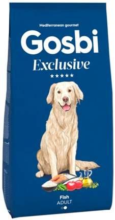 Сухой корм для собак Gosbi Exclusive Adult Medium, для средних пород, рыба, 3кг