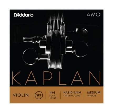 Струны для скрипки D'Addario KA310 4/4M Medium