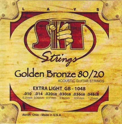 Струны SIT Strings GB1048 золотая бронза